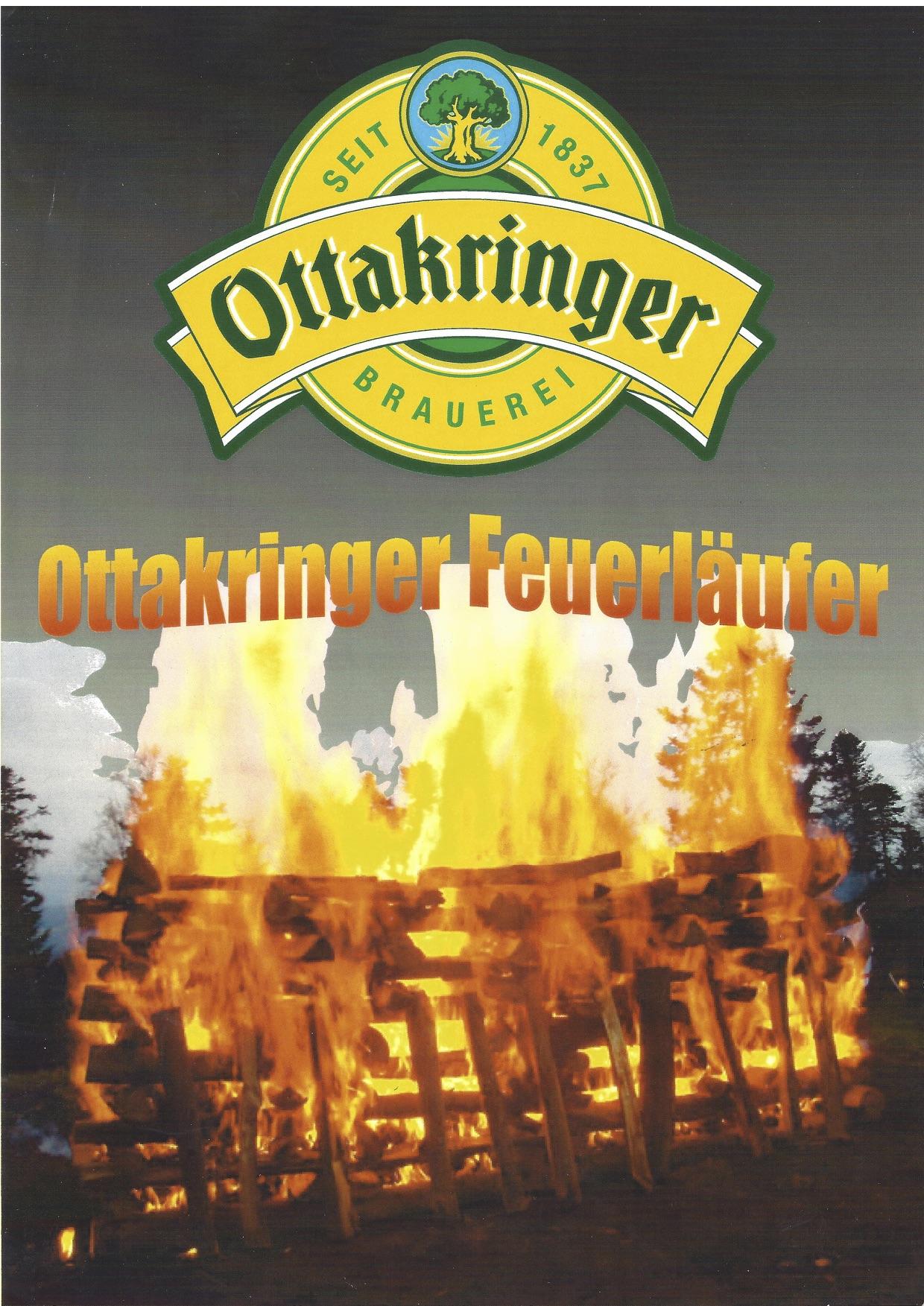 Brauerei Ottakringer läuft am 30. Jänner 2004, Barfuß über glühende Kohlen. Teambuilding und Feuerlauf mit Martin Winkelhofer, www.feuerlauf-seminar.at