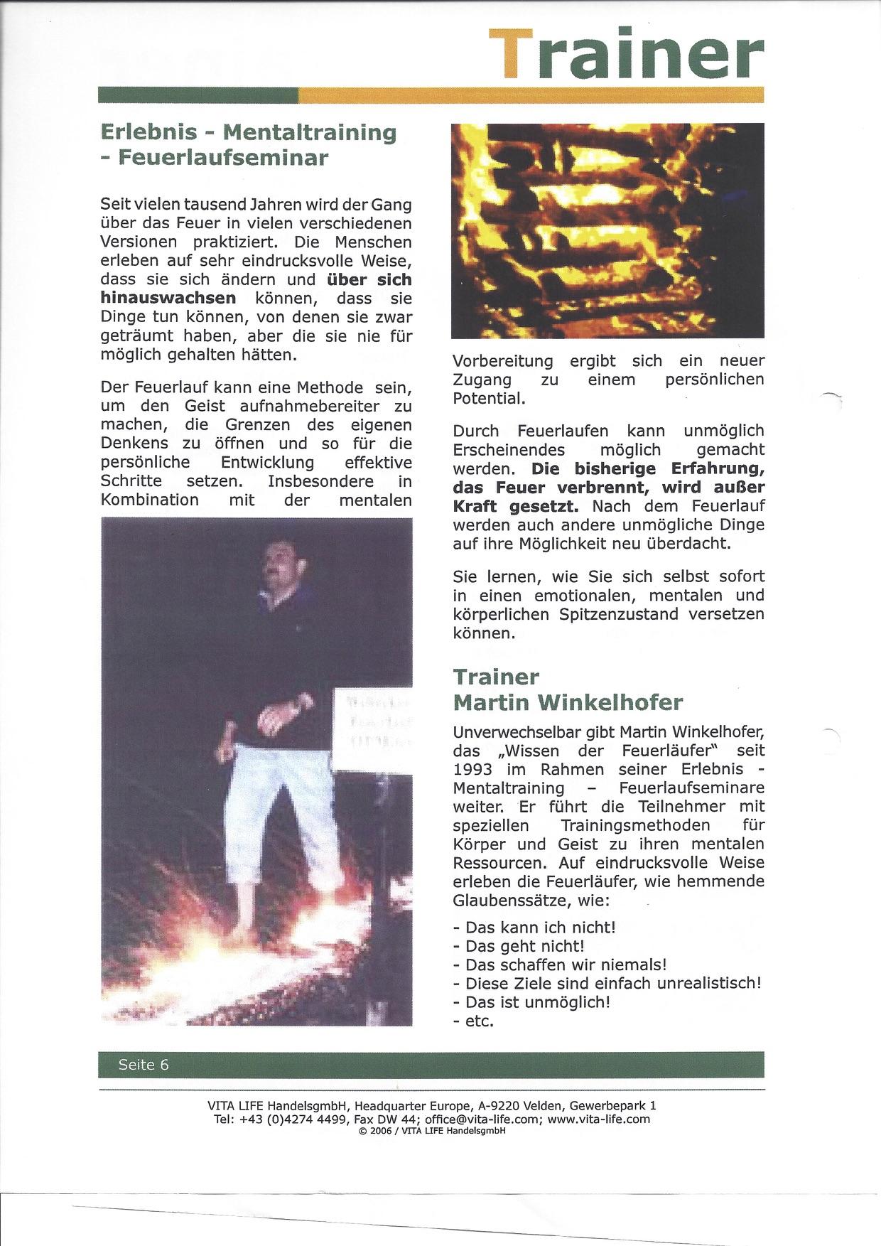 Feuerlauf mit Martin Winkelhofer www.feuerlauf-seminar.at