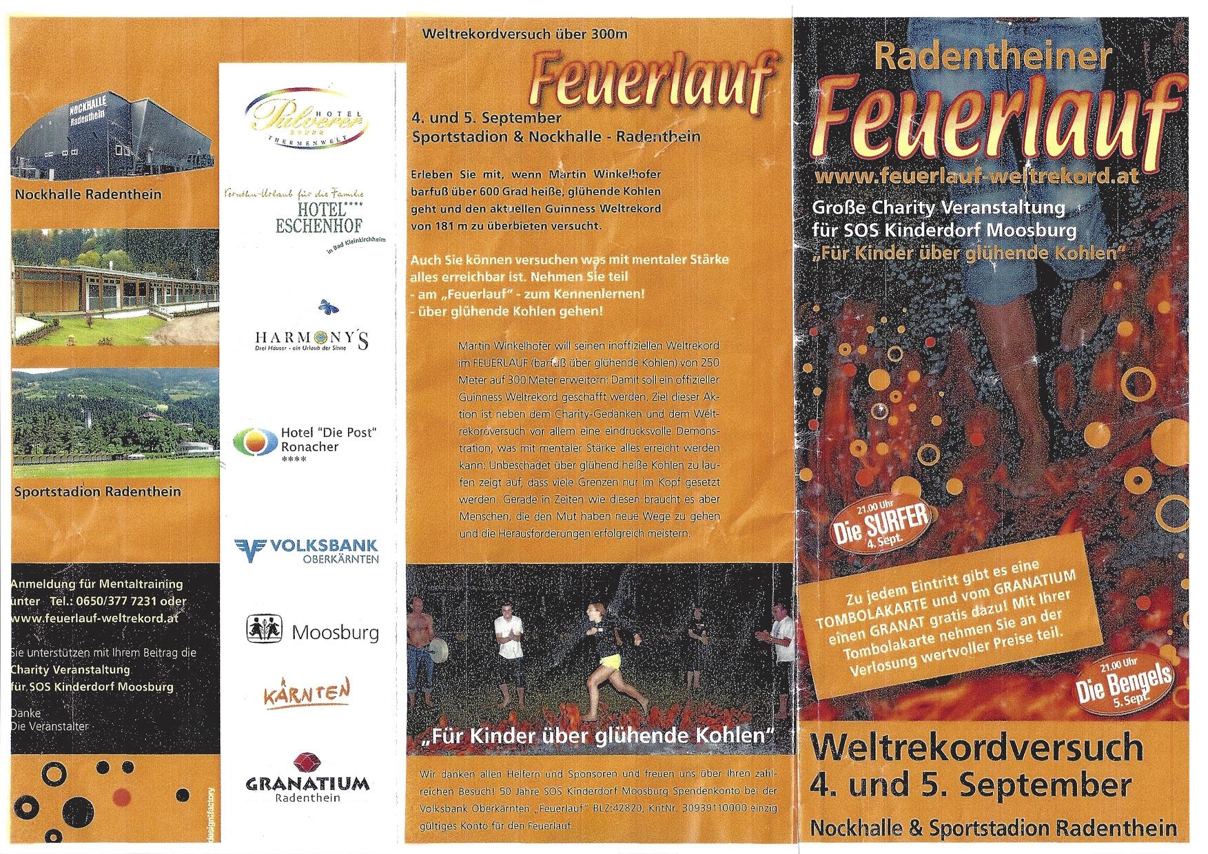 Weltrekord www.feuerlauf-seminar.at