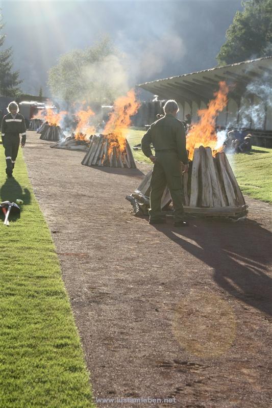 Weltrekord Feuerlauf 1